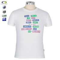 shenzhen manufacturer oversea sizes quality high cheap promotion print white t shirt