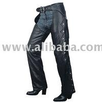 Black Leather long Chap