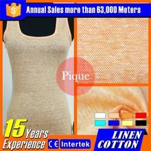 2016 populares por mayor de lino textil telas vuelos baratos de china ropa de ciclo