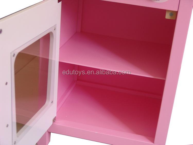 mooie roze houten keuken speelgoed sets met voedsel houten ...