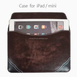 Promotional prices wholesale for apple ipad 6 leather case