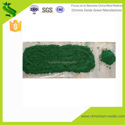 Purity 99% dark green or light green Chrome Oxide powder raw material for pigment