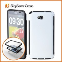 With screen protector cell phone case for lg optimus g pro lite D680