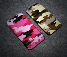 wholesale cell phone case camo camouflage frosted matte plastic phone Case For i phone 6 case