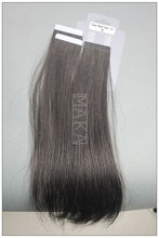 tape hair weft many colors in stocking all cuticles in one direction