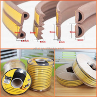 EPDM self-adhesive D P E I door weather strips