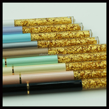 Thin Stationery 24K Gold Liquid Floating Ball Pen