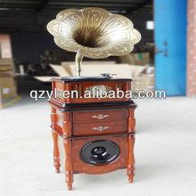 2014 venta caliente retro de alta calidad populares de la decoración antiguos gramófonos