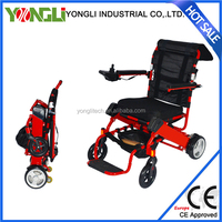 High strength disabled electric wheelchair powered tricycle