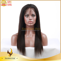 Reasonable Price Cheap No Shedding Remy Brazilian Hair Full Lace Wigs With Baby Hair In Stock