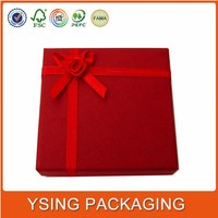 China factory good price wedding invitation silk boxes wholesale