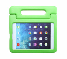 For iPad Air 2 kidsproof portable EVA case, drop defender foam handle cover for Apple iPad 6
