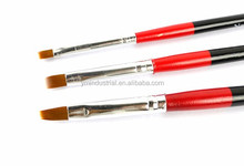 3pcs Tiny Acrylic Nail Art Design Brush Pen Drawing Painting Set