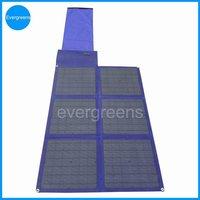 Monocrystal foldable solar charger, 12v 90w solar panel