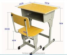 Hot selling modern school desk and chair from professional manufacture