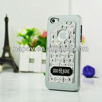 "Napov-Dog & Bone Chains Black Original for iphone 5"" Mobile Case for Apple iphone 5 Color Conversion Kit"