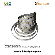 continuous led strip IP20 60lEDS/white with 3 years warranty