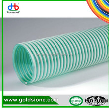 pvc conveying water oil gas powder grain inexpensive flexible durable non toxic without odor multi size available suction hose