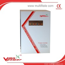 8KW Vertical power inverter high efficiency pure sine wave inverter with charger off grid solar system