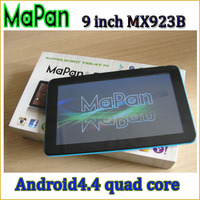 MaPan 9 inch tablet pc support flash player, lowest price android 4.4 os tablet with free touch pen