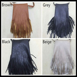 Wholesale personalized Leather Tassel Bag