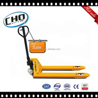 High Quality Pallet Truck, Rubber Wheels Hydraulic Pallet Truck