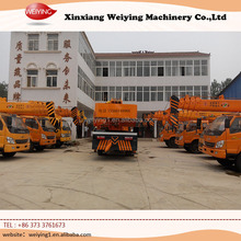 Hot sale small truck with crane 10 ton