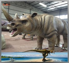 Simulation Animals Realistic Robot Rhino