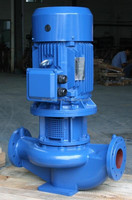 ISG Series Single Stage Vertical Inline Pump with Diesel