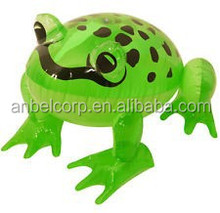Inflatable Green Frog Blow Up Jungle Animal Kid Pool Water Beach Party Play Toy