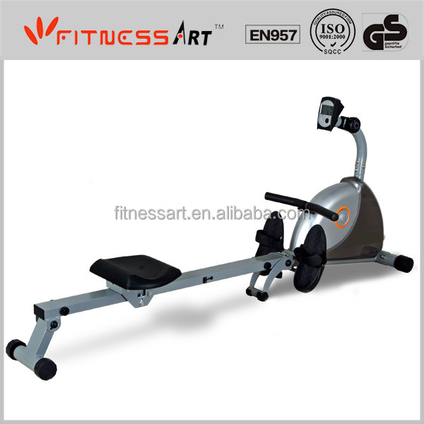 exercise with rowing machine