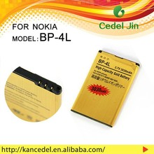battery manufacturer in china 3030mah 3.7v gold battery for NOKIA BP-4L
