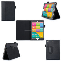 PU Leather case for iPad mini 2/3 with auto wake/ sleep