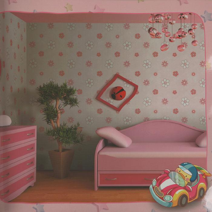Mgk552 5 wall art stickers texture fancy paper kids room for Kids room wallpaper texture