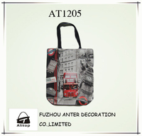 beautiful and unique design printing pvc shopping bag