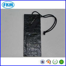 airline paper baggage tag