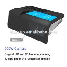Qs-pc700 7 pulgadas de pantalla táctil wifi 3g de tarjetas de crédito terminal