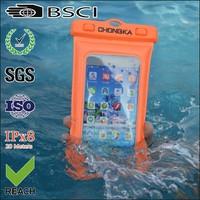 Custom waterproof mobile phone bag for iphone 5