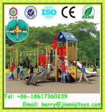 New design indoor wooden playground slide, wooden playsets, wooden swing sets JMQ-P091C