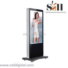 """55"""" vertical hd led video display with internet"""