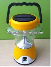 Solar lantern with hand cranking/led camping lantern SN-SLY601