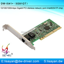 High quality 1000m pxe diskless pci fast ethernet adapter
