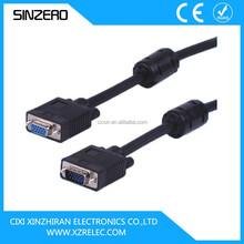 cable vga rca/hdmi female to vga male cable/rs232 vga cable