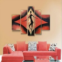 Best Quality ShenZhen Dafen Handmade Wall Art Sexy Nude Woman Painting Oil