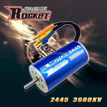 Classique RC modèle 2445 2a 5400KV moteur 4 polonais R / C loisir moteur Brushless