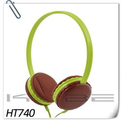 Fashionable Cute Stereo lightweight headphone