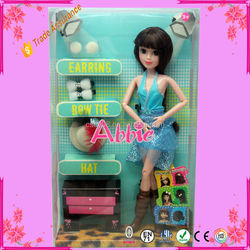 11.5 Inch New Toys Fashion Girl Doll Set Kids Toys For Girl
