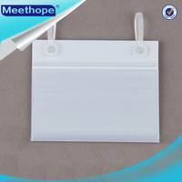 Clear pvc Price Tag Holder Picture Fram for Wire from China