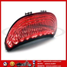 KCM627 MOTORCYCLE SMOKE INTERGRATED LED TURN SIGNALS TAIL LIGHT FOR 03-06 HONDA CBR600RR CBR1000RR