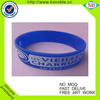 Free design high quality silicone sports bracelets wristband